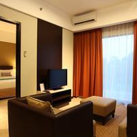 Soll Marina Hotel & Conference Center Bangka Executive Suite Living room Aston-Soll-Marina-Bangka-Belitung