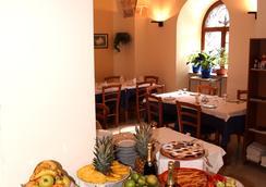 亞德里亞酒店 - 巴里 - 餐廳