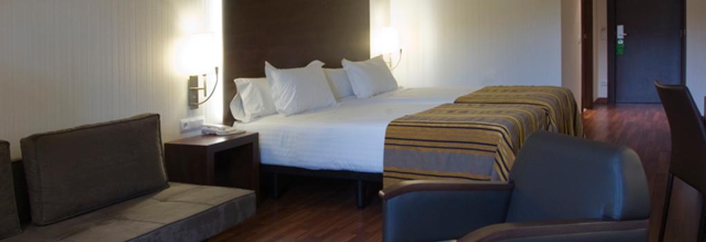 Hotel Gran Ultonia - 赫羅納 - 臥室