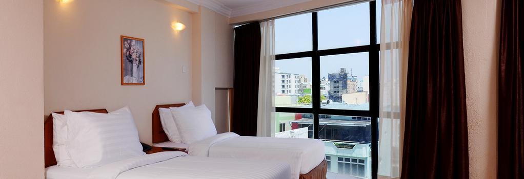 Champa Central Hotel - 馬列 - 臥室