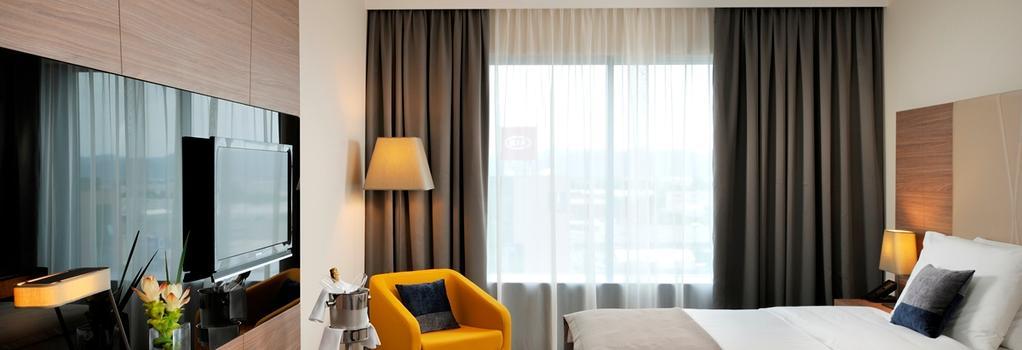 Radisson Blu Plaza Hotel, Ljubljana, , SI - 盧布爾雅那 - 臥室
