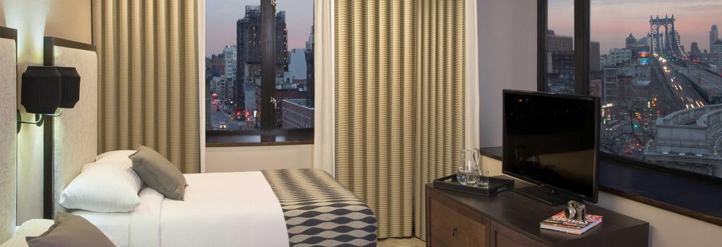 Leon Hotel - 紐約 - 臥室