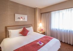豪景大酒店 - 台北 - 臥室