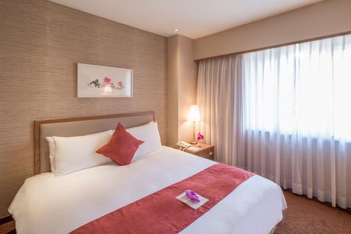 台北豪景大酒店 - 台北 - 臥室