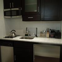 East Village Hotel In-Room Kitchen