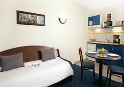 櫻紅卡爾卡松北部公寓式酒店 - Carcassonne - 休閒室