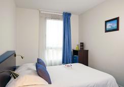 櫻紅卡爾卡松北部公寓式酒店 - Carcassonne - 臥室