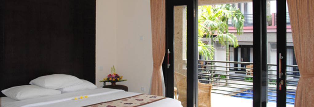 Taman Tirta Ayu Pool And Mansion - 登巴薩 - 臥室