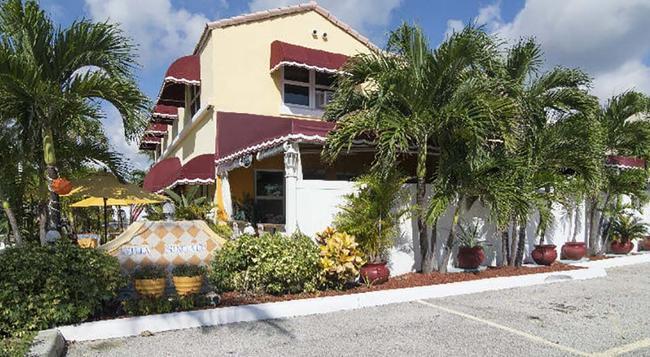 Villa Sinclair Beach Suites And Spa - 好萊塢 - 建築