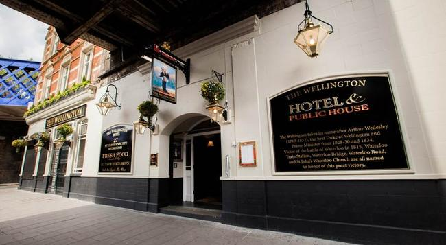 The Wellington Hotel - 倫敦 - 建築