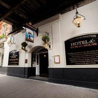 The Wellington Hotel Exterior detail