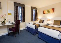 國王屬地酒店 - 倫敦 - 臥室