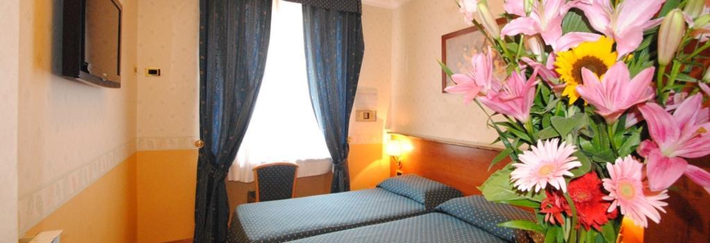 Hotel Verona-Rome - 羅馬 - 臥室