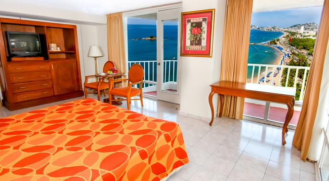 Krystal Beach Acapulco - 阿卡普爾科 - 臥室