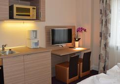 Appartementhotel Hamburg - 漢堡 - 客廳