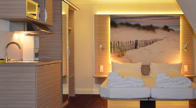 Appartementhotel Hamburg - 漢堡 - 臥室
