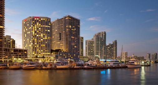 邁阿密萬豪酒店比斯坎灣 - 邁阿密 - 建築