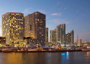 邁阿密比斯坎灣萬豪飯店