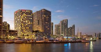 邁阿密比斯坎灣萬豪飯店 - 邁阿密 - 建築
