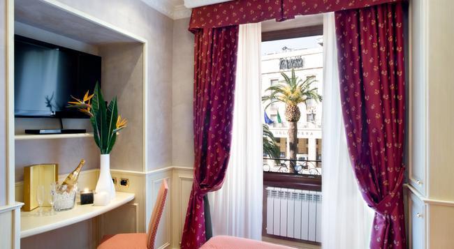 Al Viminale Hill Inn & Hotel - 羅馬 - 臥室