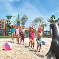 Walt Disney World Dolphin Resort Childrens Area