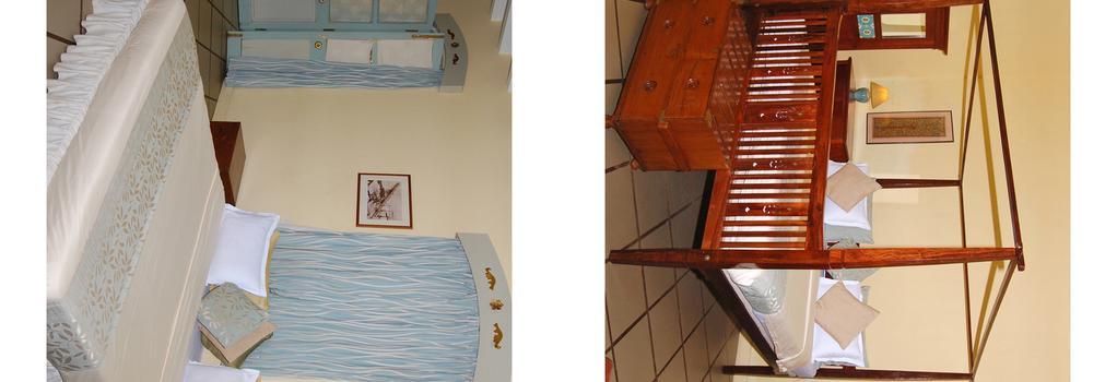 Hotel du Parc - 蓬蒂切里 - 臥室