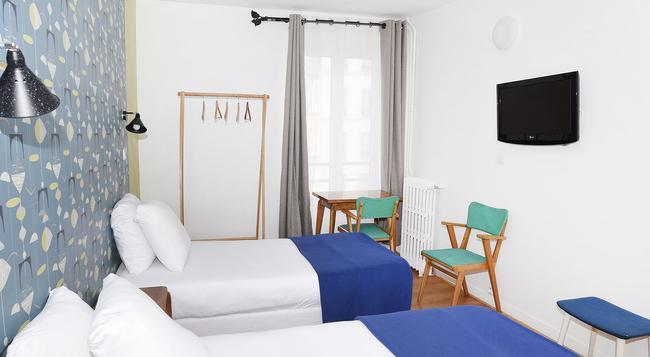 Zazie Hotel - 巴黎 - 臥室