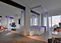 烏斯懷亞伊維薩海灘酒店-僅限成人 - Sant Jordi de ses Salines - 臥室