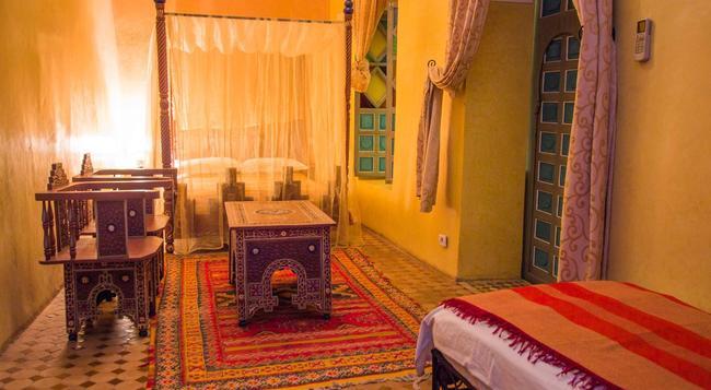 Riad Zinoun & Spa - 馬拉喀什 - 臥室