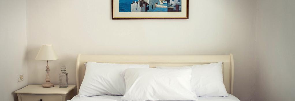 Central Hotel - 特拉維夫 - 臥室