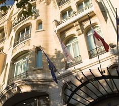巴黎香榭麗舍大道萬豪酒店
