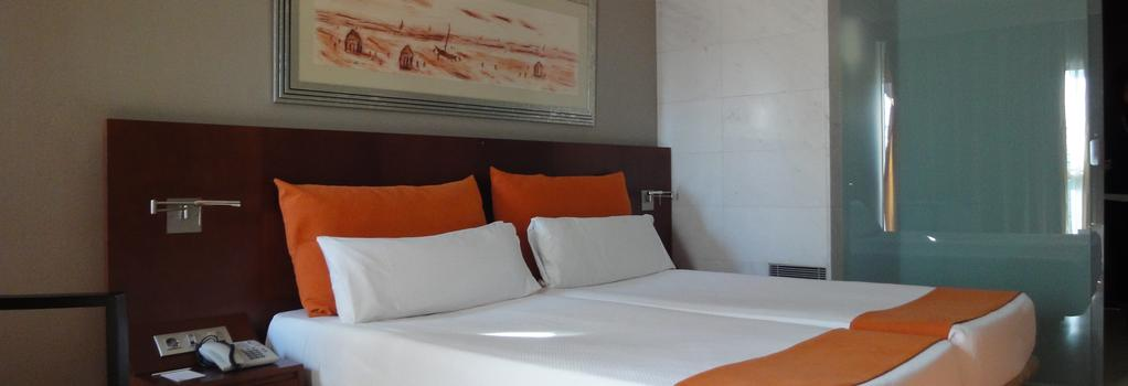 Eurohotel Barcelona Gran Via Fira - 奥斯皮塔莱特-德略布雷加特 - 臥室