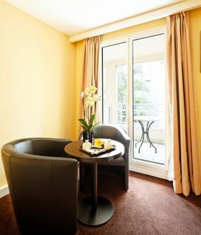 奧特易圖爾埃菲爾酒店 - 巴黎 - 客廳
