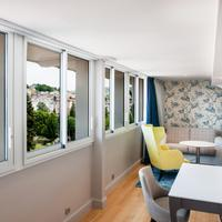 Grand Hotel Gallia & londres Living Area