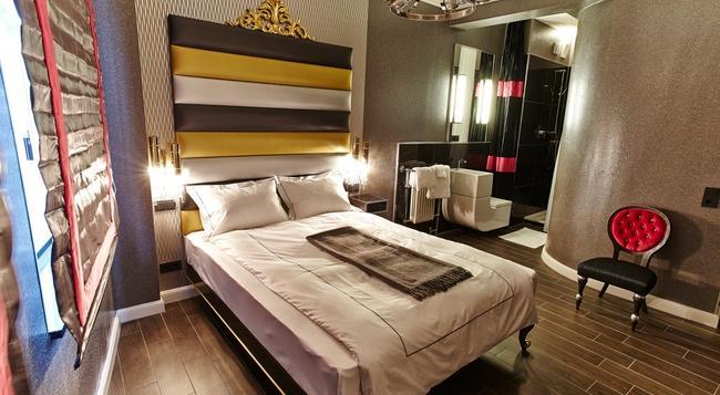 Humboldt1 Palais-Hotel & Bar - 科隆 - 臥室