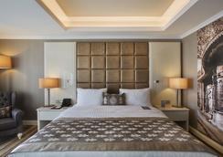 德德曼博斯坦哲伊斯坦布爾酒店及會議中心 - 伊斯坦堡 - 臥室