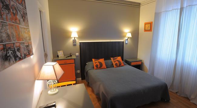 Hotel Italia - 圖爾 - 臥室