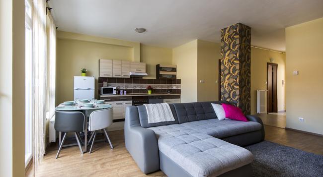 Grand Budapest Penthouse - 布達佩斯 - 臥室