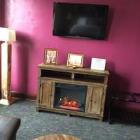 The Miner's Boutique Hotel Fireplace