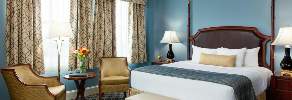 Francis Marion Hotel - 查爾斯頓 - 臥室