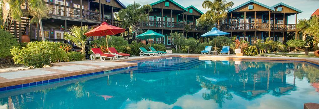 X'Tan Ha - The Waterfront Resort - 聖佩德羅 - 游泳池
