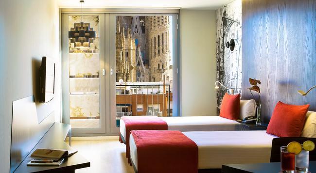 Ayre Hotel Rosellon - 巴塞羅那 - 臥室