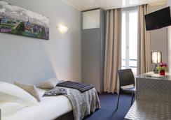 布瑪爾查酒店 - 巴黎 - 臥室