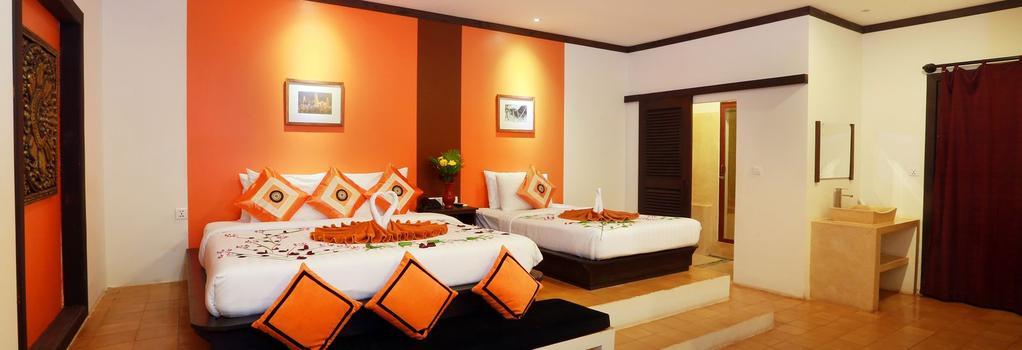 Residence Indochine D'angkor - 暹粒 - 臥室