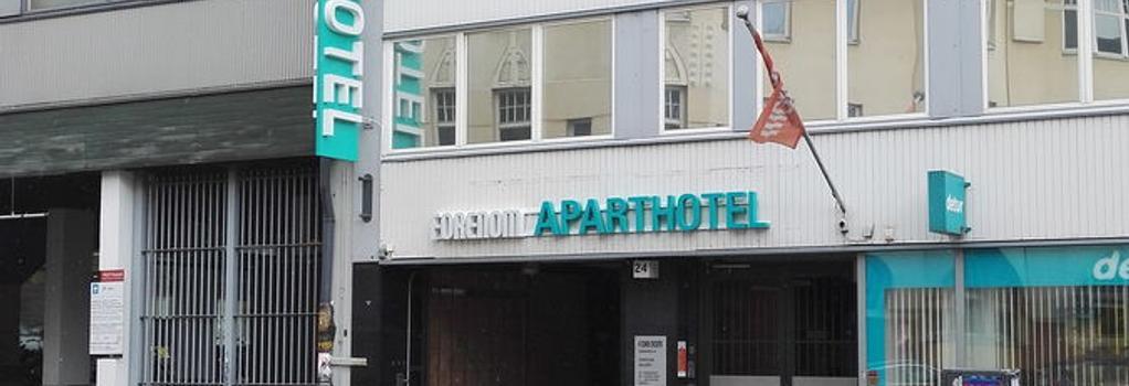 Forenom Aparthotel Helsinki City - 赫爾辛基 - 建築