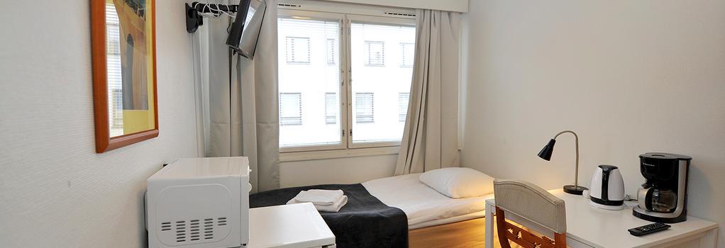 Forenom Hostel Oulu Rautatie - 奧盧 - 臥室