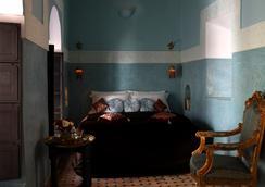 里亞德捷豹旅館 - 馬拉喀什 - 臥室