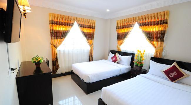 Number 9 Hotel - Phnom Penh - 臥室