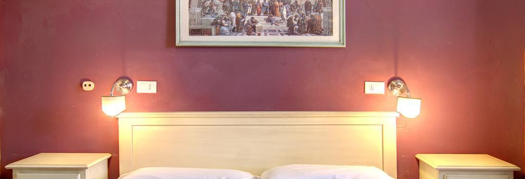 Hotel Genzianella - 佛羅倫斯 - 臥室