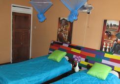 燧石背包客旅舍 - Lusaka - 臥室